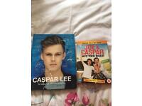 Caspar Lee book +Joe and Caspar hit the road DVD