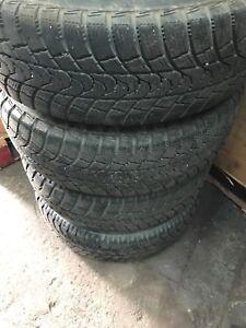 Winter tires P215/70R15