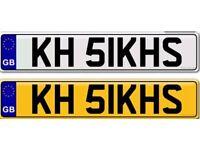 SINGH SIKH SIKH'S PUNJABI KHALSA KHALISTAN KHANDA private number plate for sale