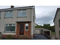 Larne Lovely 3 bedroom Semi with Garage Lovely Peaceful Area beside Park and Town.