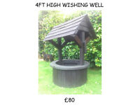 GARDEN FURNITURE (FULL SIZE) WISHING WELL