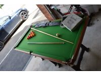 Foldable Pool Table ( & Snooker)