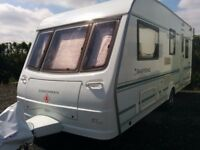 Coachman Pastiche 2005 540/4 Carvan 4 berth Motor Mover End Bedroom Fantastic condition