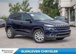 2016 Jeep Cherokee Limited | V6 | PANORAMIC ROOF | NAV | BU CAME