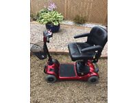 Lynx Invacare Mobility Scooter, Hardly Used, Buyer Collects - £250 o.n.o.