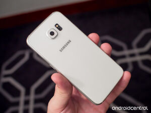 Samsung S6 unlocked white color in mint condition