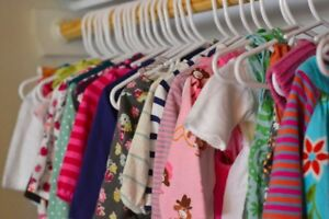 DONATE leftover kids clothing here!