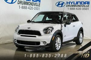 MINI Cooper S Paceman 2014 + ALL4 + INDISPENSABLE + CUIR + PANO