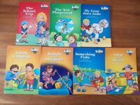 fantastic set of 11 kids & co educational children`s reading book