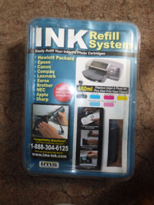 Computer ink refill system