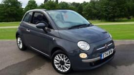 2014 Fiat 500 1.2 Lounge 2dr (Start Stop) Manual Petrol Convertible