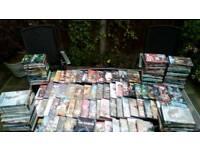 100s of popular DVD'S