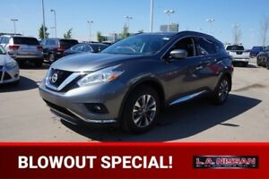 2016 Nissan Murano SV ALL WHEEL DRIVE Navigation (GPS),  Heated
