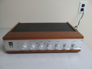 Dual CV40 Integrated Amplifier with owners/service manuals