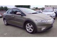 HONDA CIVIC 2.2 ICDTI ES 6 SPEED 2008 / PANORAMIC ROOF / 1 OWNER / FULL SERVICE HISTORY / HPI CLEAR