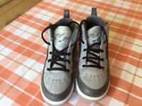 Boys size 13.5 Air Jordan's worn once home from the USA - Rare eddition
