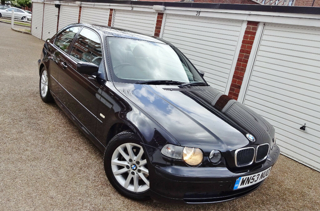 bargain 2004 53 bmw 316 ti compact manual petrol in. Black Bedroom Furniture Sets. Home Design Ideas