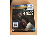 Oscar Nominated Fences Blu Ray