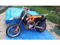 KTM SX65 Junior Moto-x bike. 2003. Suitable for age 8-12. Competition spec bike. Good condition.