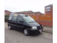 FOR SALE 2005 FIAT SCUDO TAXI 1.9 JTD DIESEL 7 SEATER PSV 6 MONTHS