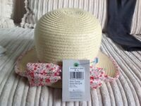 Girls sun hat by John Lewis - age : medium