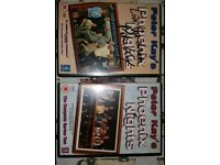 Signed Peter Kay DVDs Phoenix Nights series 1 and 2