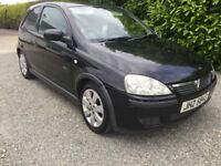 2006 Vauxhall corsa 1.2 sxi mot march 2018 four new tyres great we car cookstown