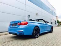2014 64 reg BMW M4 3.0 DCT Convertible + YAS MARINA Blue + HUGE SPEC / LOADED