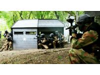 Voucher for 50 places Paintballing with Allied in Cardiff