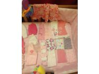 Baby clothes bundle - 70 items