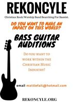 Christian Rock/Worship Band Searching For Bassist!