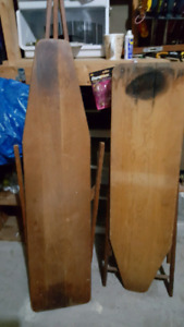 Antique Wooden Ironing Boards