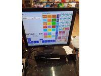 Job a lot - whole retail shop items for sale - £4500 - EPOS Tego shelves, freezer, open plan chiller