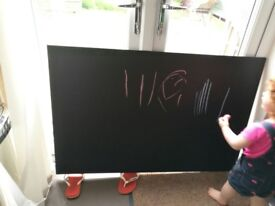Extra large chalk blackboard