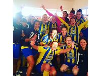 Women / Ladies Footballers , soccer players wanted for experienced club