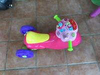 Vtech bike as new with music and sounds