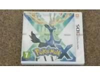 Pokemon X - Brand New - Nintendo 3ds