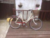 Vintage Ladies Pashley Basket Bike