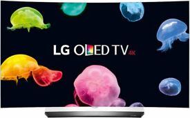 """BRAND NEW 55"""" Curved LG OLED TV Ultra HD 4K HDR 3D Smart TV OLED55C6V with 5 Years Warranty!"""