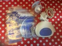 Lansinoh electric breast pump and bags