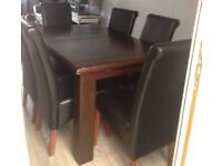 Solid extendable table only free to collector must be picked up by Thursday