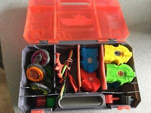 BEYBLADES and collector case