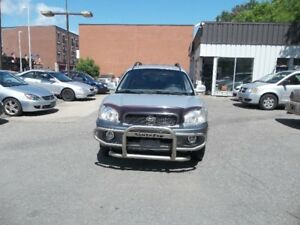 2004 Hyundai Santa Fe SUV, 180000 km safety and E test