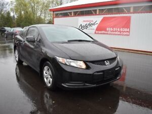 2013 Honda Civic LX 2dr Coupe