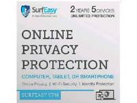 Surfeasy vpn 2 year subscription for up to 5 devices