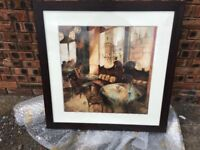 For Sale French Bistro Scene Painting