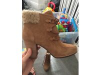 Genuine Ugg heels with insoles size 6.5