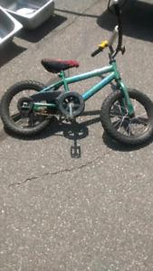 Vélo et petites roues