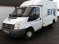 2008 Ford Transit T350m 100 Engineers Box Van