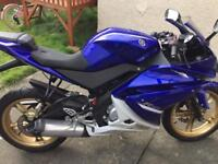 Yamaha yzf r125 low miles full mot delivery available